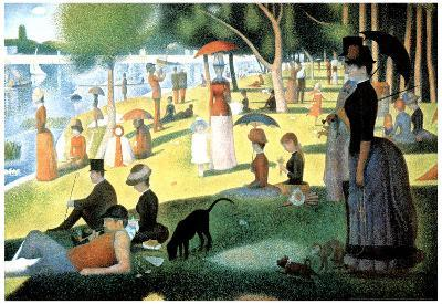 Georges Seurat (A Sunday Afternoon on the Island of La Grande Jatte) Art Poster Print