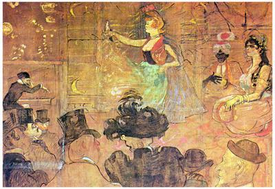 Henri de Toulouse-Lautrec Mauri Dance Art Print Poster