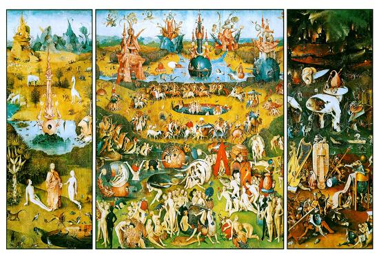 4c1a5630173 Hieronymus Bosch Garden of Earthly Delights Art Poster Print Prints at  AllPosters.com