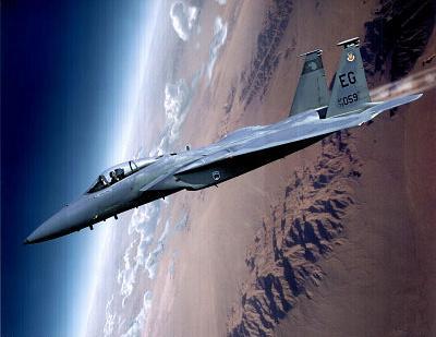 McDonnell Douglas F-15 Eagle Airplan Photo Print Poster