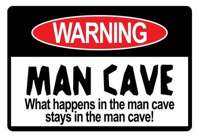 Man Cave Sign Art Print Poster
