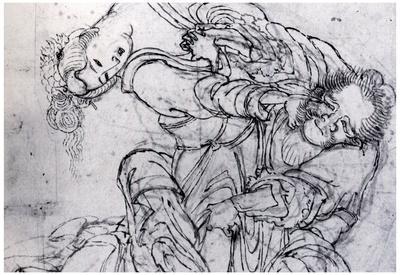 Katsushika Hokusai Suikoden Scene Art Poster Print