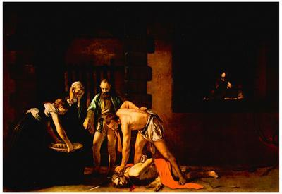Michelangelo Caravaggio (The beheading of John the Baptist, for the Oratory of San Giovanni Cathedr