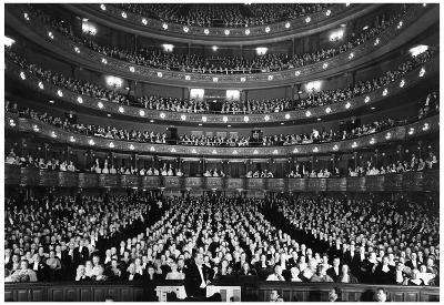 New York City Metropolitan Opera 1940 Archival Photo Poster Print