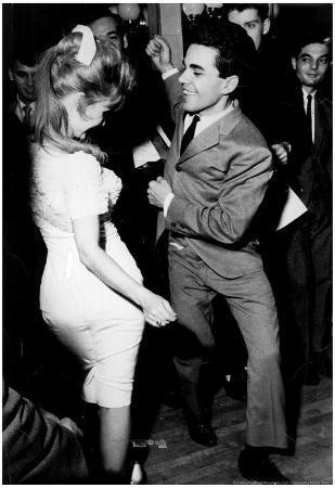 Joey Dee Peppermint Twist 1962 Archival Photo Poster