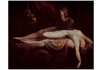 Johann Heinrich Fussli (Nightmare) Art Poster Print