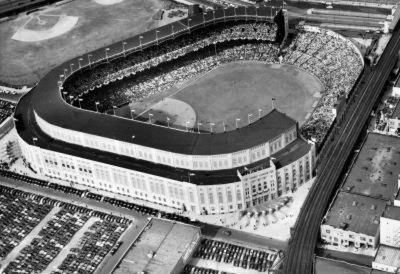 New York Yankees Original Yankee Stadium Aerial 2 Archival Photo Sports Poster