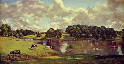 John Constable (Wivenhoe Park, Essex, home of the Major-Generals Rebow) Art Poster Print