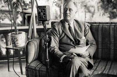President Franklin Delano Roosevelt NBC Archival Photo Poster Print
