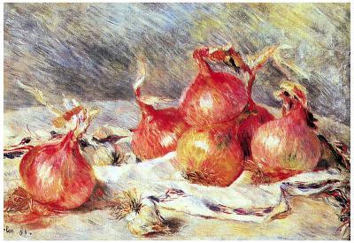 Pierre Auguste Renoir Onions Art Print Poster