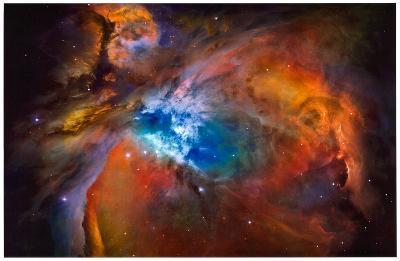 Orion Nebula Brilliant Space Photo Poster Print