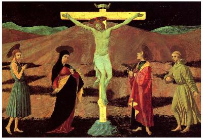 Paolo Uccello Christ at the Cross Art Print Poster