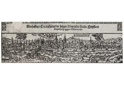 Peter Opel (View of Regensburg west) Art Poster Print
