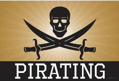 Pirating Gold Pirate Poster Print