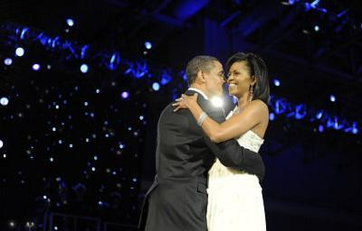 President Barack Obama (Dancing with Michelle Obama) Art Poster Print