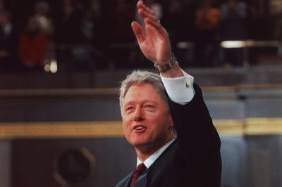 President Bill Clinton Archival Photo Poster Print