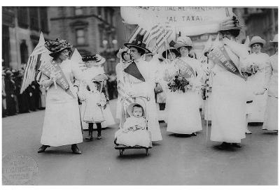 Suffrage Parade (New York City, 1912) Art Poster Print