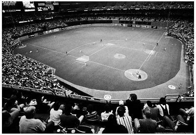 Seattle King Dome Mariners Archival Photo Sports Poster