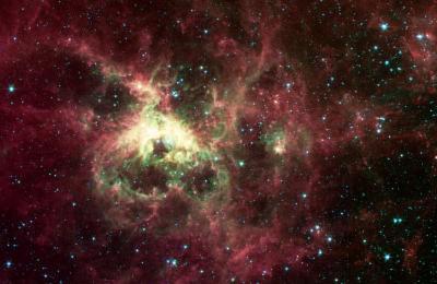 Tarantula Nebula Space Photo Art Poster Print