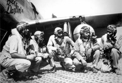 Tuskegee Airmen 332nd Fighter Group Archival Photo Poster