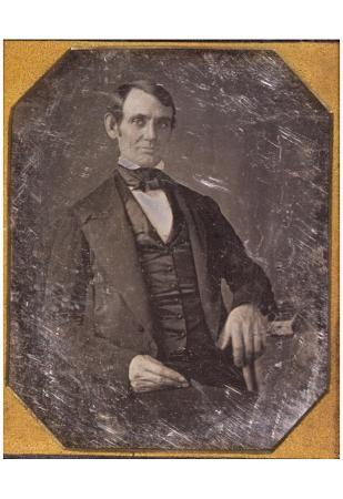 Abraham Lincoln (Portrait, Young) Art Poster Print