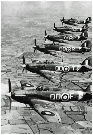 World War II Royal Air Force Archival Photo Poster Print