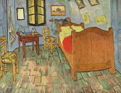 Vincent Van Gogh (Van Gogh's Bedroom) Art Poster Print