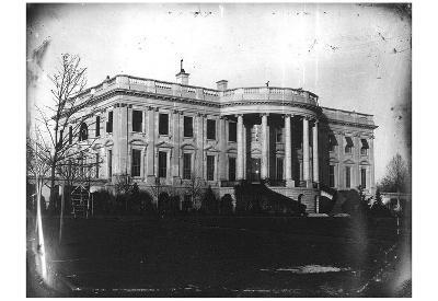 White House (Washington D.C., 1846) Art Poster Print