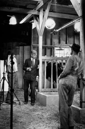 Will Rogers on Set Archival Photo Movie Poster Print