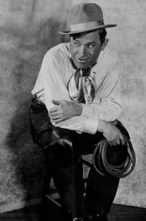 Will Rogers Sitting on Stool Archival Photo Movie Poster Print
