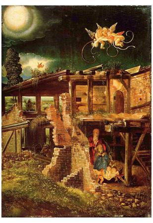 Albrecht Altdorfer (Holy Night (Nativity)) Art Poster Print