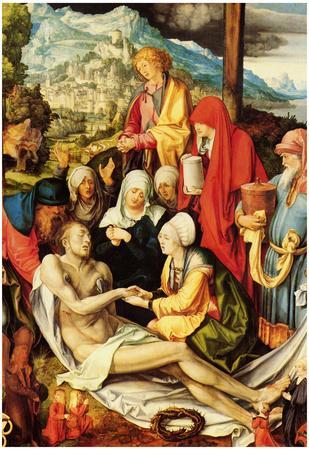 Albrecht Duerer Weeping for Christ 2 Art Print Poster