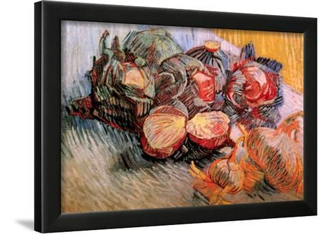 RED CABBAGES AND ONIONS Vincent Van Gogh AGLIO cipolle tuberi B a2 03395