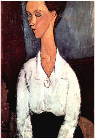 Amadeo Modigliani Portrait Art Print Poster