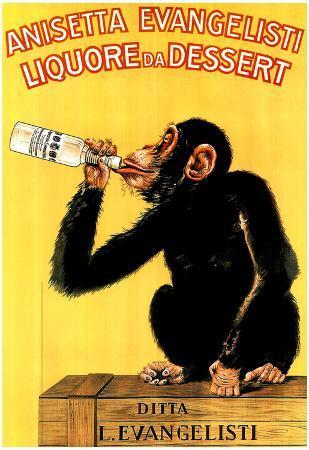 Anisetta Evangelisti (Liquore Da Dessert) Art Poster Print