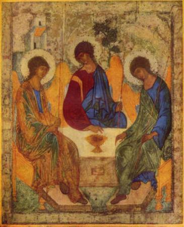 Andrej Rublev (Holy Trinity) Art Poster Print