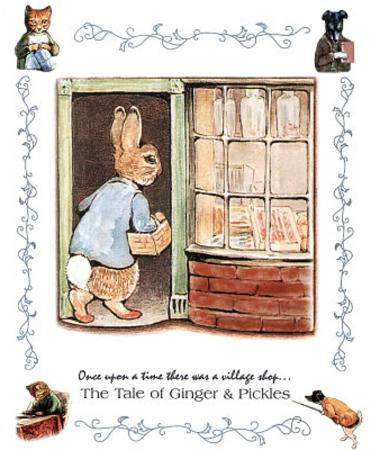 Beatrix Potter Ginger and Pickle Art Print Peter Rabbit