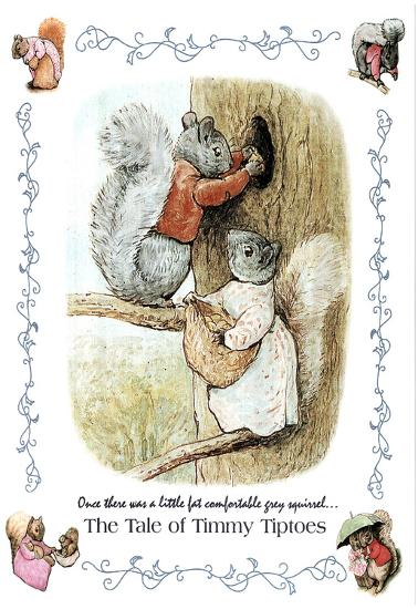 Beatrix Potter Tale Of Timmy Tiptoes Art Print Poster Posters At