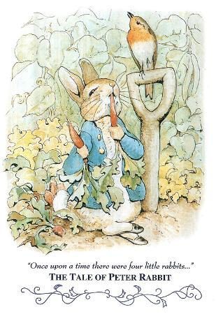 Beatrix Potter Tale Peter Rabbit Art Print POSTER cute