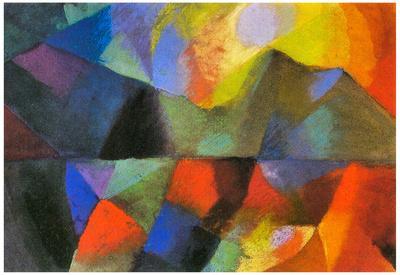 August Macke Color Art Print Poster