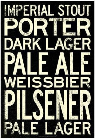 Beer Types and Styles