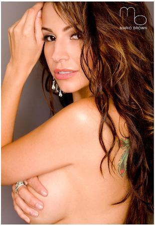 Barby Garcia Topless Sexy Photo Poster by Mario Brown