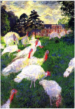 Claude Monet The Gobbler Art Print Poster