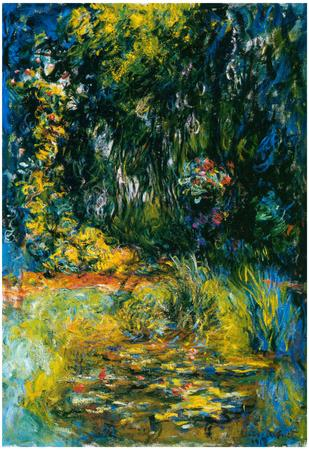 Claude Monet (Nympheas) Art Poster Print