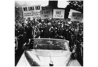 Dwight Eisenhower (I Like Ike) Art Poster Print