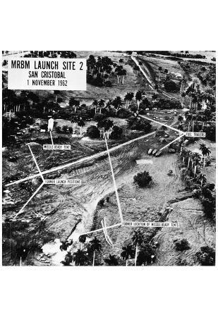 Cuban Missile Crisis (Missile Launch Sites) Poster