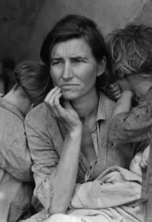 Dorothea Lange Migrant Mother Archival Photo Poster Print