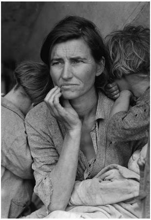 Dorothea Lange Migrant Mother Archival Photo Poster Print