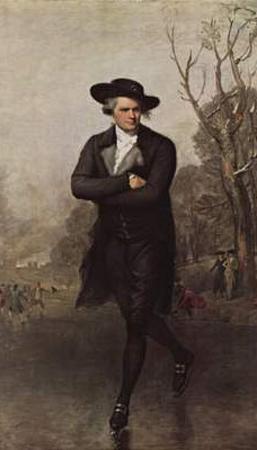 Gilbert Stuart (The skater) Art Poster Print