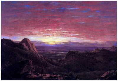 Frederick Edwin Church Morning Art Print Poster